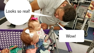 Video REACTIONS! Shopping Cart FAIL! Outing With MANY Reborn Baby Dolls download MP3, 3GP, MP4, WEBM, AVI, FLV Juli 2018