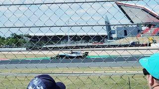 F1 Spoiler Alert: Lewis Hamilton British GP Pole Position Spectator View & Reaction