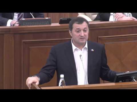 Declaratiile lui Vlad Filat in Parlamentul RM (inainte de arest)