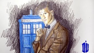 TV/Movie Series:  Doctor Who Matt Smith TIme Lapse Drawing