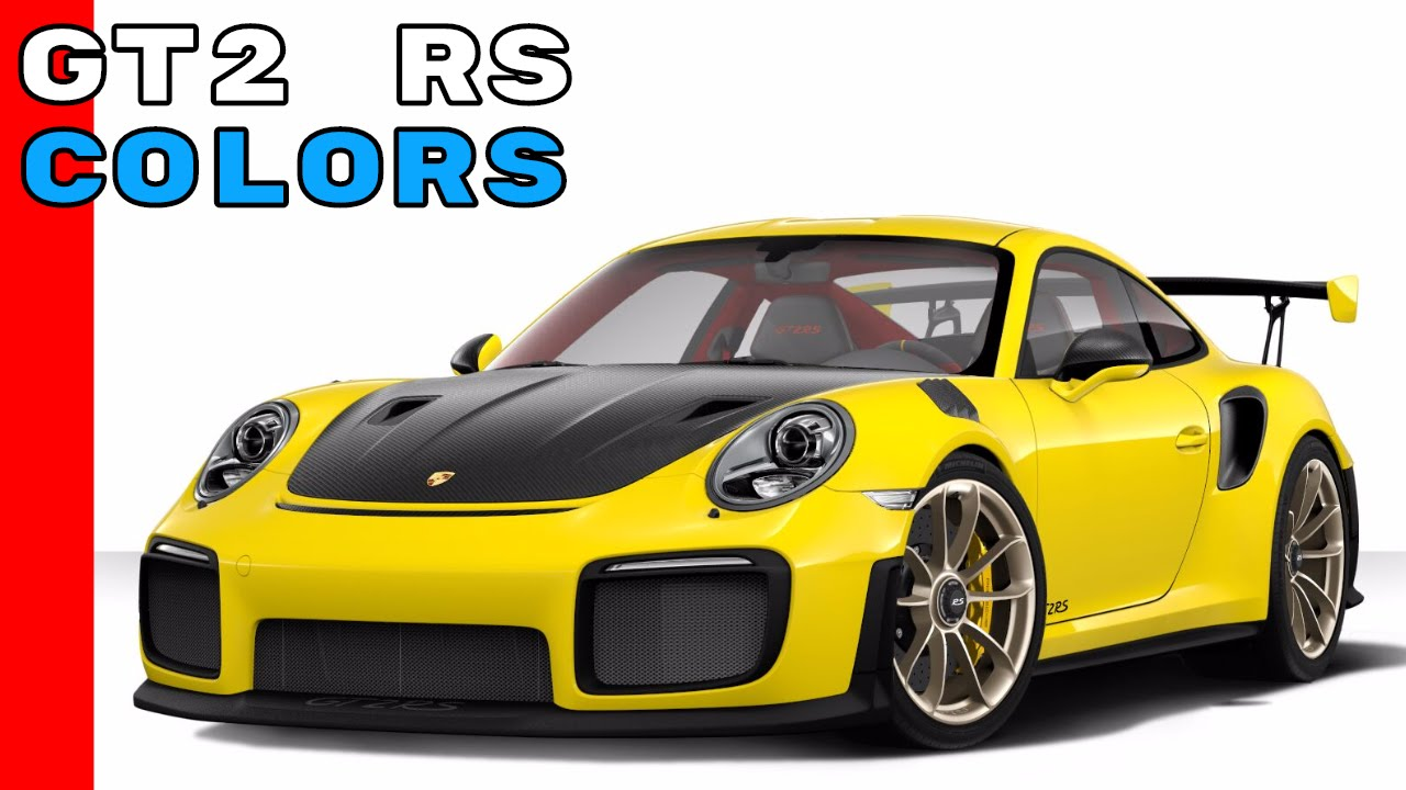 2018 porsche 911 gt2 rs colors youtube. Black Bedroom Furniture Sets. Home Design Ideas