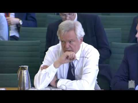 Brexit: Mark Durkan Questions David Davis 15 Mar 2017