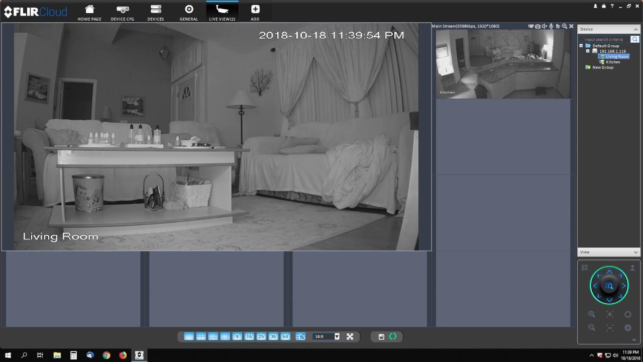 Flir Cloud Lorex 2 of 8 Camera Setup 1080p Night Vision