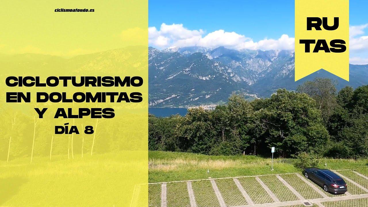 Cicloturismo en Dolomitas y Alpes, Día 8   Madonna de Ghisallo, patrona ciclistas   Ciclismo a Fondo