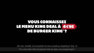 BURGER KING - Vous connaissez ?...