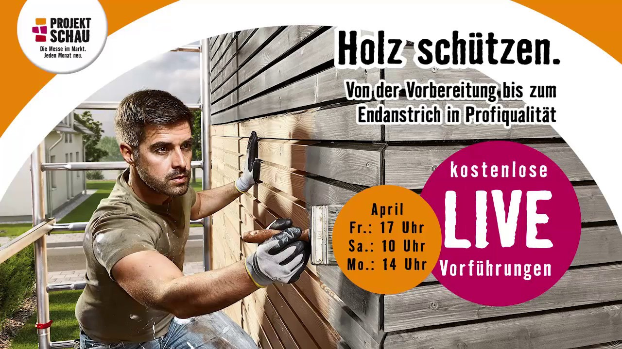 hornbach projektschau m rz 2018 holz sch tzen youtube. Black Bedroom Furniture Sets. Home Design Ideas