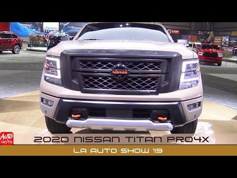 2020 Nissan Titan Pro4X - Exterior Walkaround - LA Auto Show