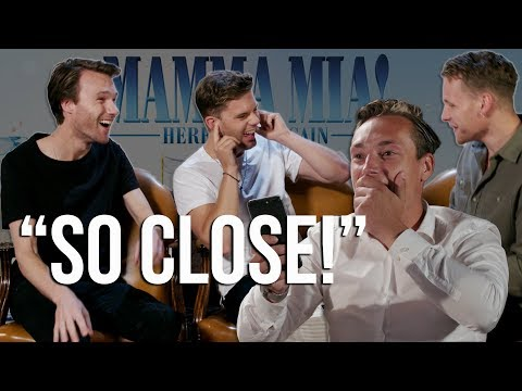 GUESS THE SOUNDTRACK Ft.  MAMMA MIA 2! ACTORS