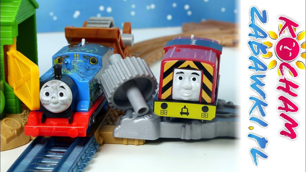 Tomek i Przyjaciele • Ucieczka ze złomowiska • Track Master • Fisher Price • Openbox
