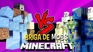 Big Golem vs Golem World - Briga de Mobs Minecraft