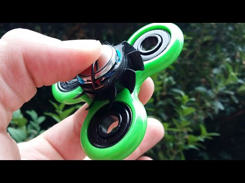 How to Make Electric Fidget Spinner