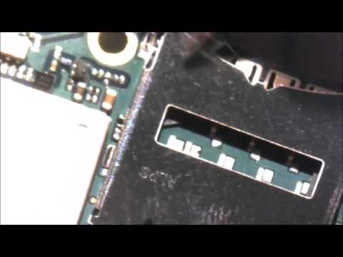 Sony Xperia Z Sim Reader Repair