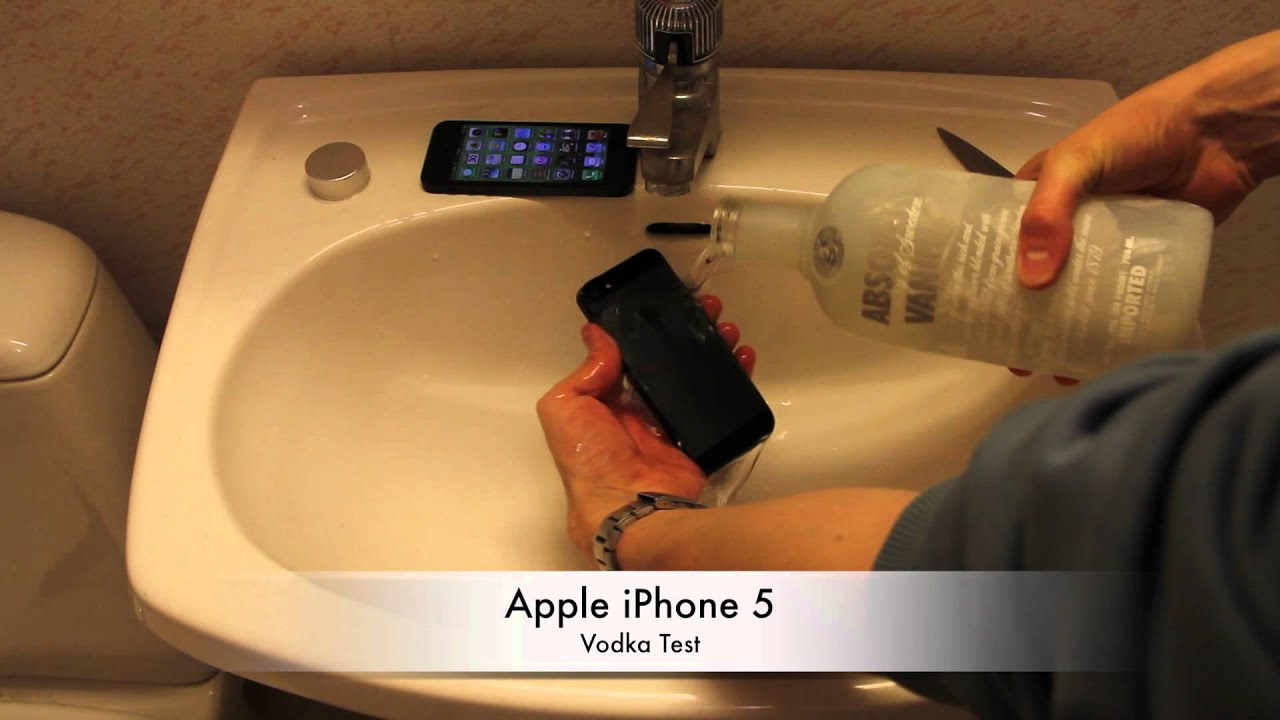 Wallpaper iphone vodka - Apple Iphone 5 Vodka Test