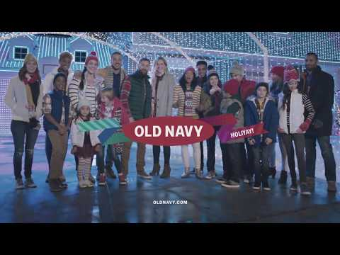 Old Navy Christmas Commercial - Music by ChazzTraxx