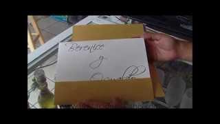 invitaciones Alanis-Invitacion de Oro para Boda
