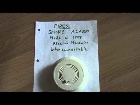 hqdefault firex model g6 smoke alarm warning youtube firex g-6 wiring diagram at alyssarenee.co