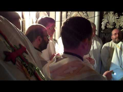 Excerpt from Cardinal Seán's Homily from Mass in the Holy Sepulchre