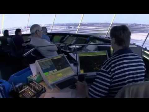 Inside Control Tower Airport) -- Must Watch...