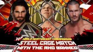 Seth Rollins & Randy Orton clash for the WWE World Heavyweight Title - Tonight at Extreme Rules