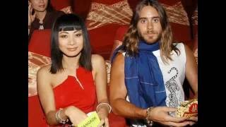 jared leto with his girlfriends