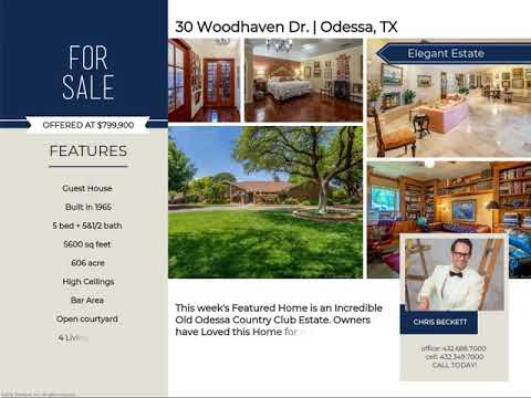 30 Woodhaven Dr., Odessa, TX