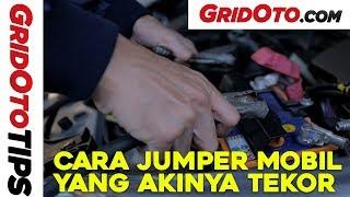Cara Jumper Mobil Yang Akinya Tekor | How To | GridOto Tips
