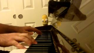 Beethoviana on the piano (A Clockwork Orange)