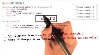 PThread Creation Example 3
