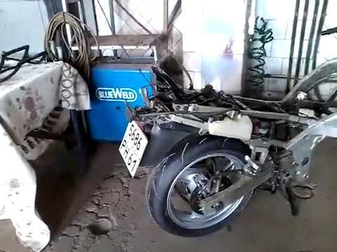 Багажная система мотоцикла своими руками.