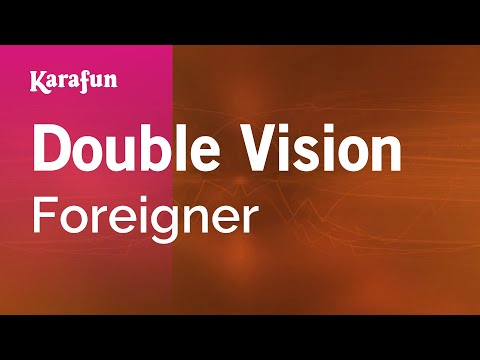 Karaoke Double Vision  Foreigner *