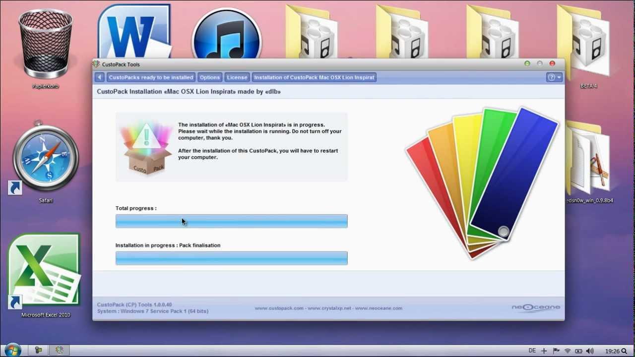 mac osx theme for windows 7 32 bit