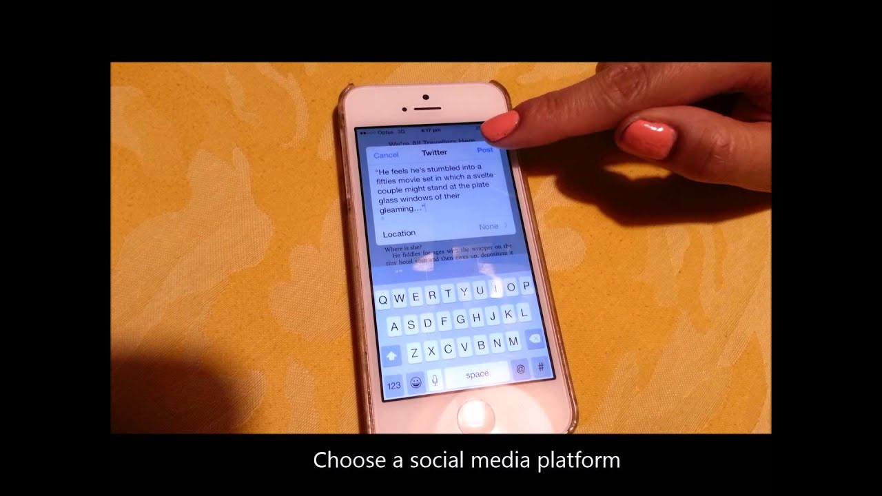How To: Share Ebook Quotes From Ibooks