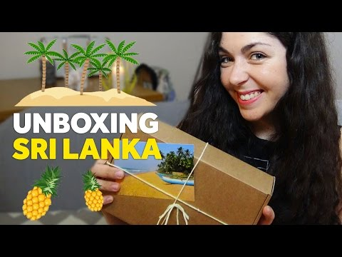 UNBOXING #3 - BOX SRI LANKA - NOS CURIEUX VOYAGEURS thumbnail