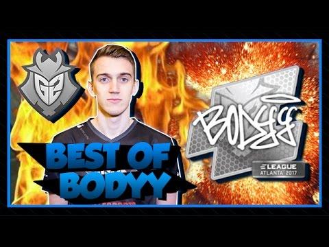 BEST OF G2 BODYY (THE FRENCH CLUTCH MASTER!!!) CSGO