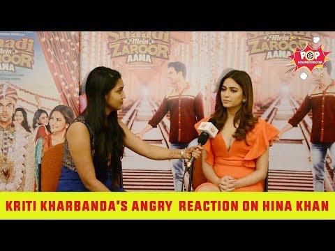 Kriti Kharbanda's Negative Reaction on Hina Khan | Big Boss 11 thumbnail