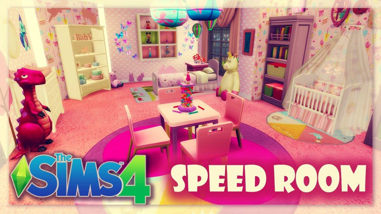 Habitaci n para beb s cc para descargar nursery room for Cuartos para ninos sims 4