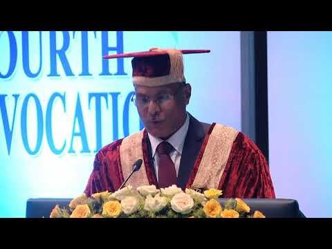 National Law University Odisha 4th Convocation 2017
