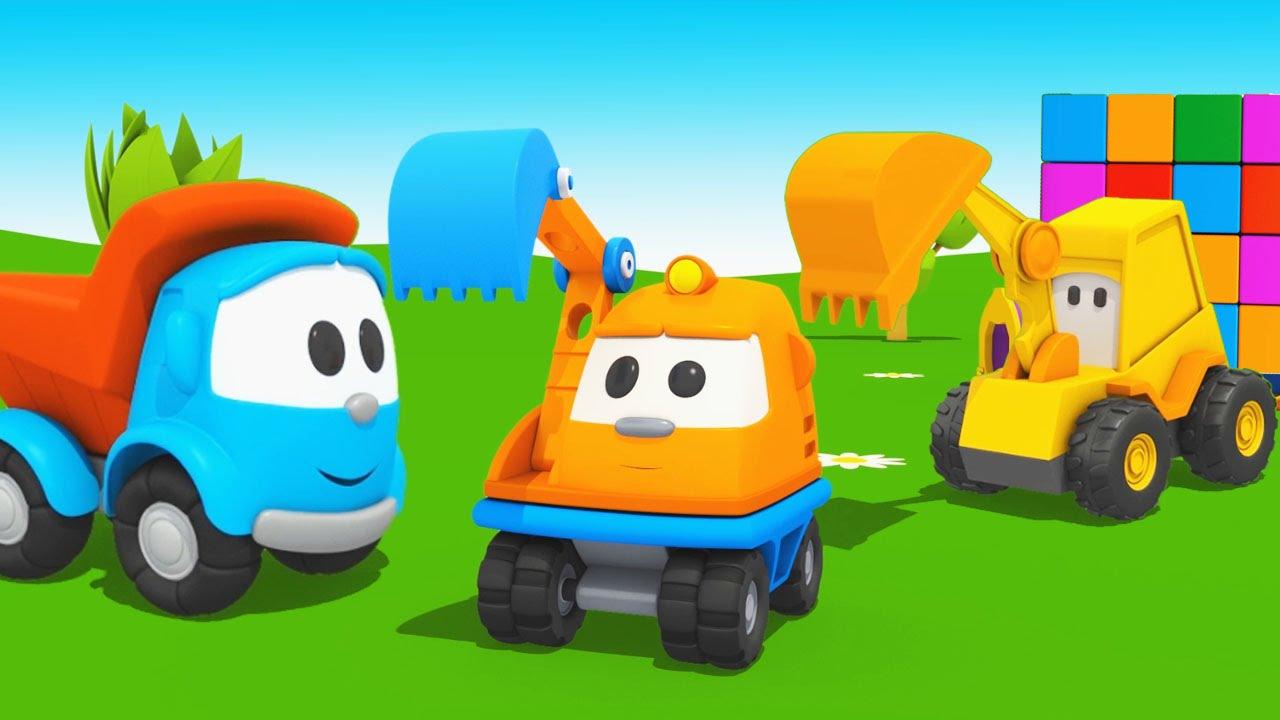 Cartoni animati per bambini il camion curioso leo junior