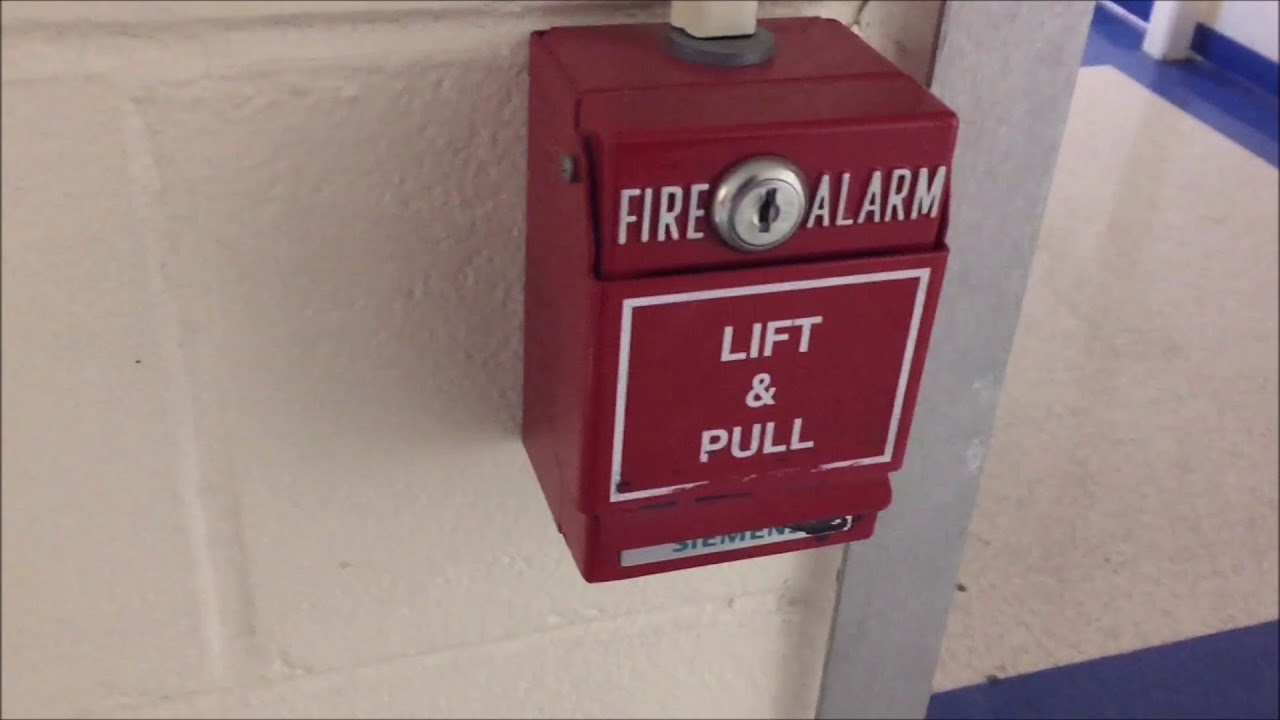 how to use fire alarm