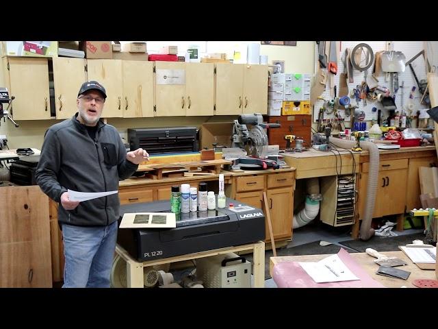 Laser Engraving Metal Marking Spray Test by ToolMetrix | Laguna Tools