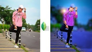 Snapseed Amazing Portrait Editing Tricks | Best Color Effect Android App | Snapseed Editing Tutorial