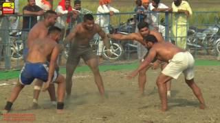 BHAI LADHU (Tarn Taran) ਭਾਈ ਲੱਧੂ (ਤਰਨ ਤਾਰਨ) | KABADDI CUP - 2016 | 3rd & 4th QUARTER FINALS | HD | 2