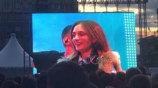Парень из Рощино сделал предложение девушке на Дне города в Челябинске