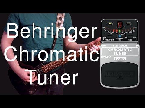 Behringer TU300 Chromatic Tuner Demo