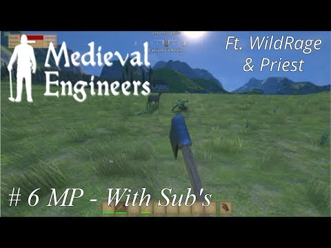 Medieval Engineers - Deer Herding and Gathering - With Sub's - #6 Ft. WildRage & Priest