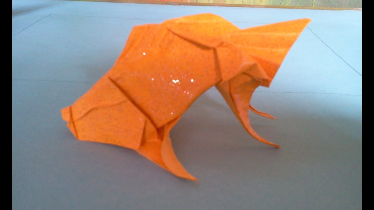 the making of an origami Koi in stop motion | This clip is a… | Flickr | 720x1280
