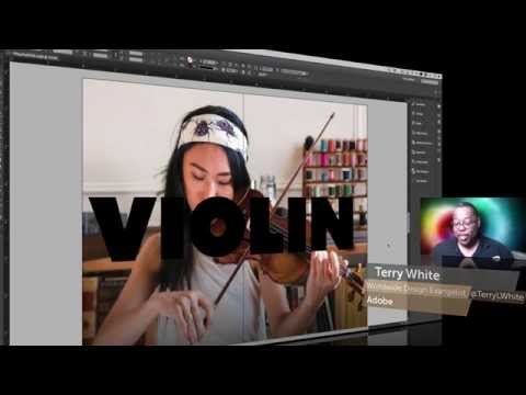 How To Place a Photo inside Text in Adobe InDesign