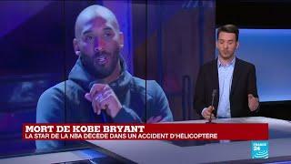 Mort de Kobe Bryant à 41 ans dans un accident d'hélicoptère