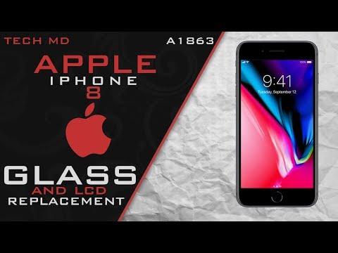 iPhone 8 glass & Lcd replacement in Salt Lake City Utah
