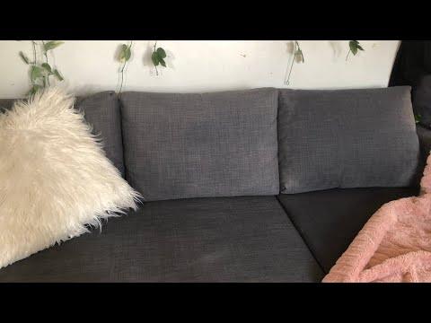 Sofa Cleaning: (Baking soda and vinegar)